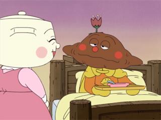 カレーパンマンとシチューおばさん