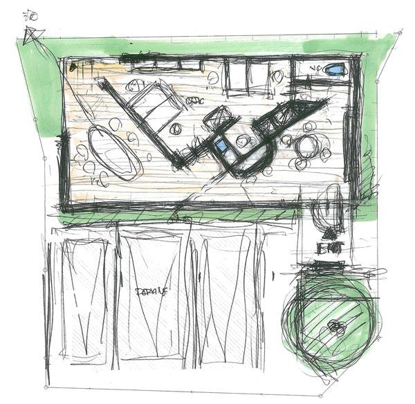 新社屋 設計ラフ