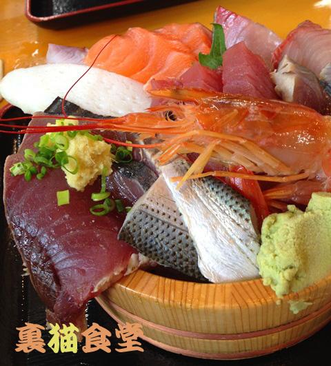 7月8日海鮮丼