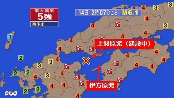 2014年3月14日地震は日本がいつでも抱懐すると教えている。