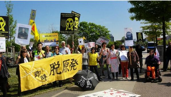 ドイツ人「安倍首相に日本国民と子供を放射能から守れとデモが発生!! ドイツ国民が安倍首相に脱原発を要望