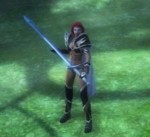 剣の構えはかっこ悪い