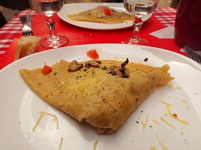 リヨンお昼クレープ20140609
