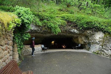 ルフィニャック洞窟入口20140624