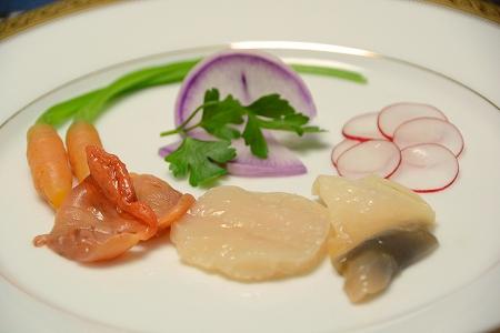 貝のお刺身2014416