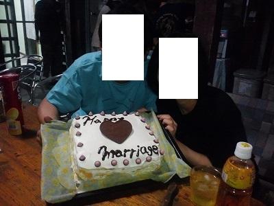 結婚のお祝い20140917