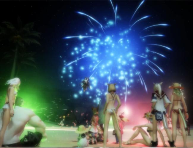 コスタの花火大会