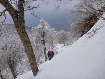 20140316荒島岳09