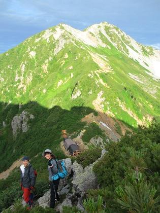 20140803針ノ木岳13
