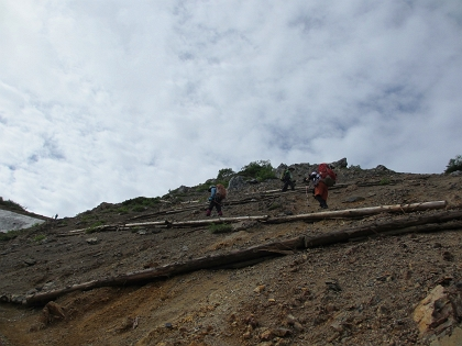 20140803針ノ木岳17