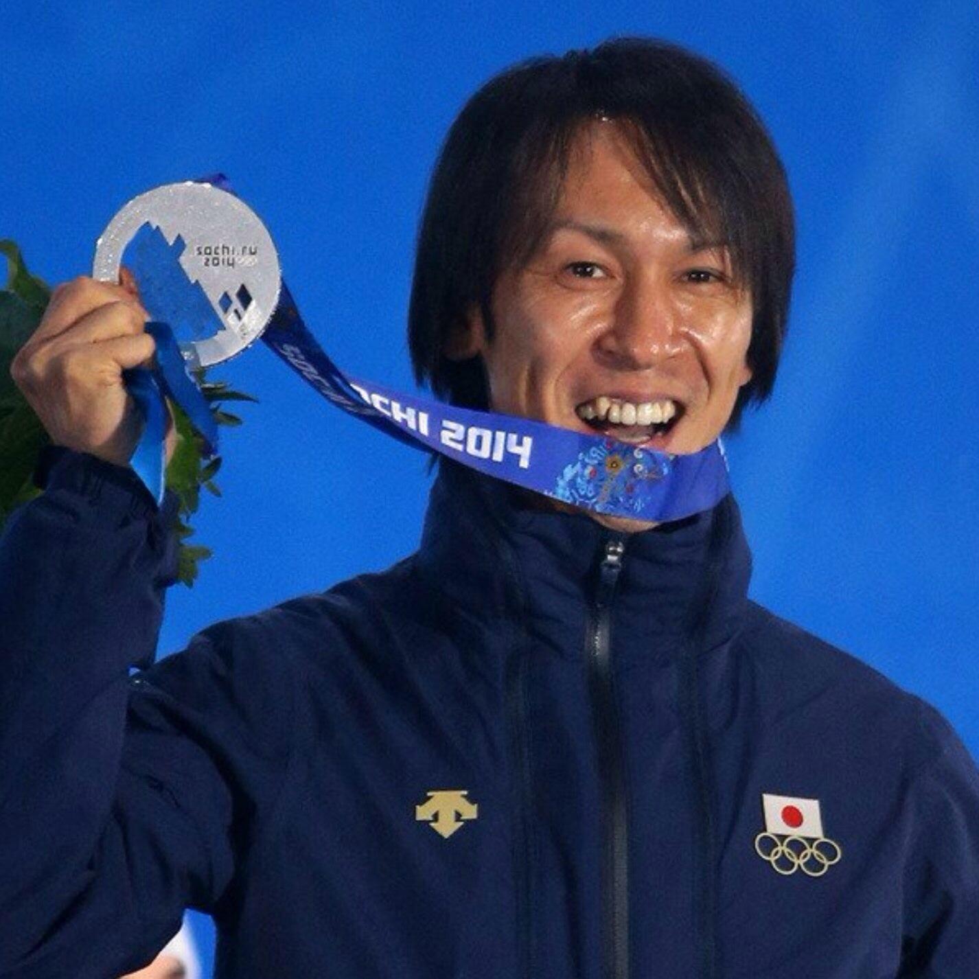 葛西紀明選手、銀メダル獲得