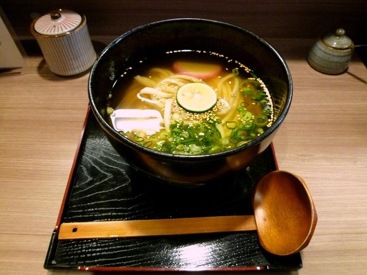 柔製麺冷かけ1