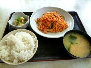 ニュー冨士中華ナポリタン定食1