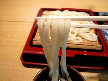 森久ざるうどん定食4