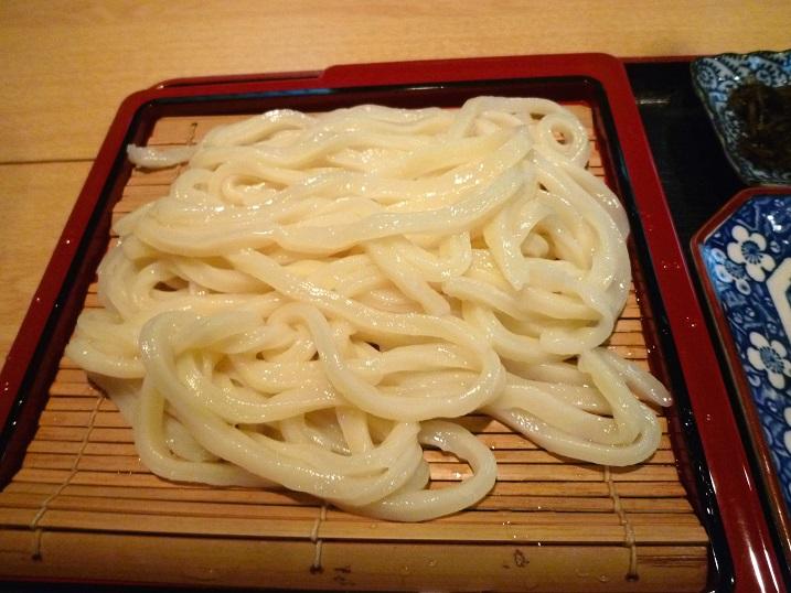 森久ざるうどん定食2