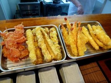 阿波半田製麺所天ぷら3