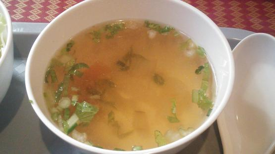 バイヨーク ランチスープ