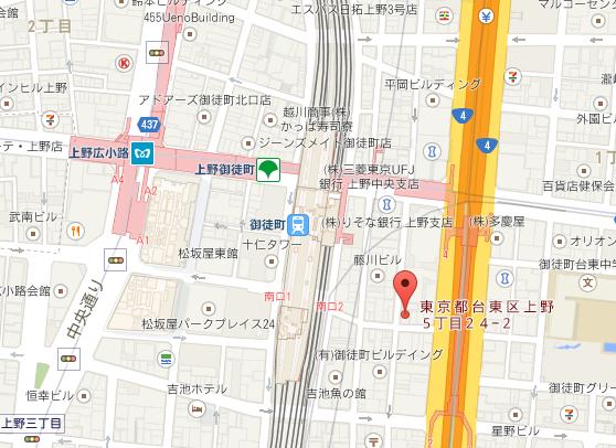 六曜館 地図