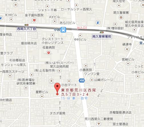 きりのこ 地図