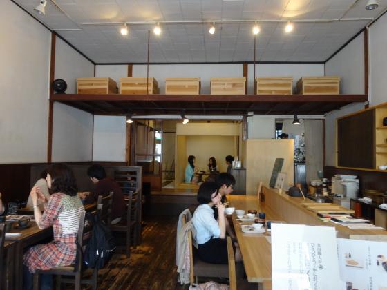 北斎茶房 店内1