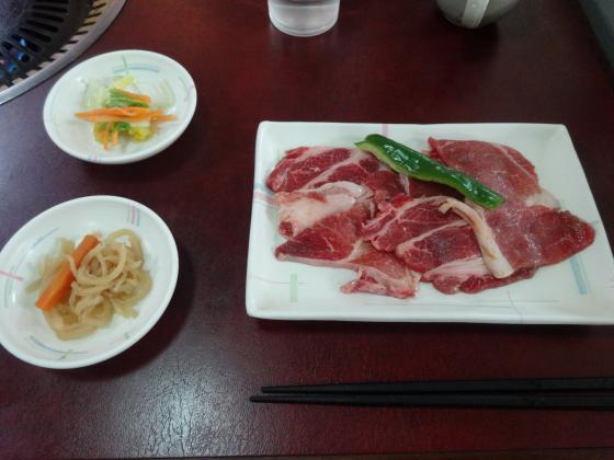 猪豚焼肉定食1
