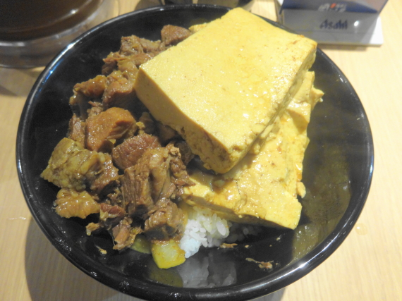豆腐肉めし