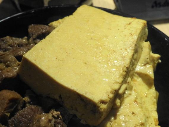 豆腐肉めし 豆腐拡大