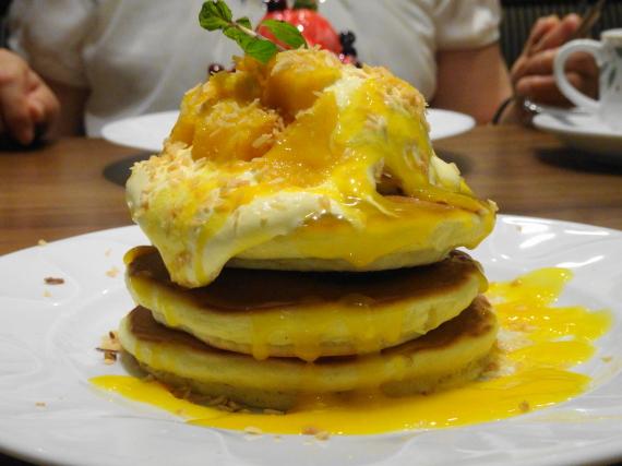マンゴーパンケーキ3