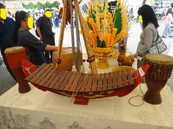ラオスフェス 楽器