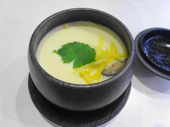 広島県産牡蠣茶碗蒸し2