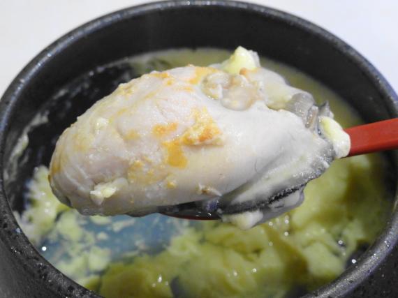 広島県産牡蠣茶碗蒸し4