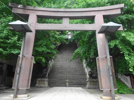 愛宕神社 出世階段