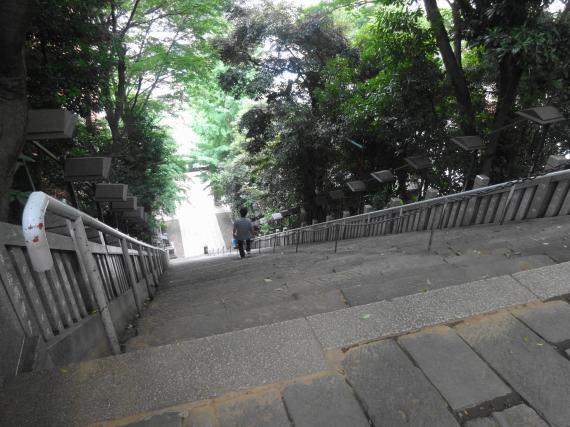 愛宕神社 出世階段頂上から