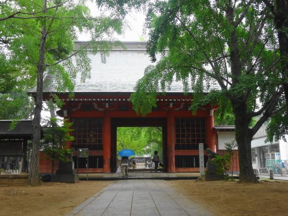 葛飾八幡宮 随神門