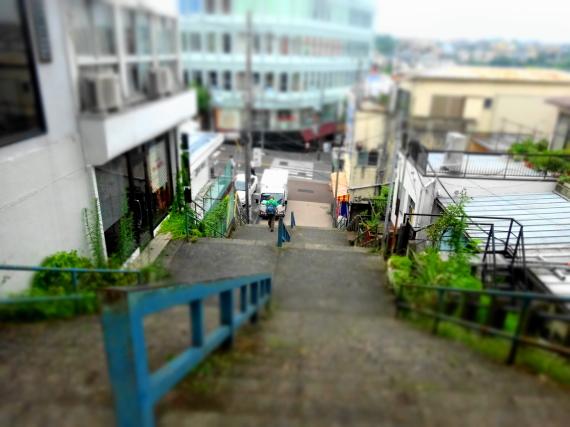 階段 ミニチュア風