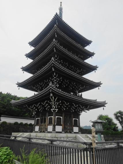 香林寺 五重塔