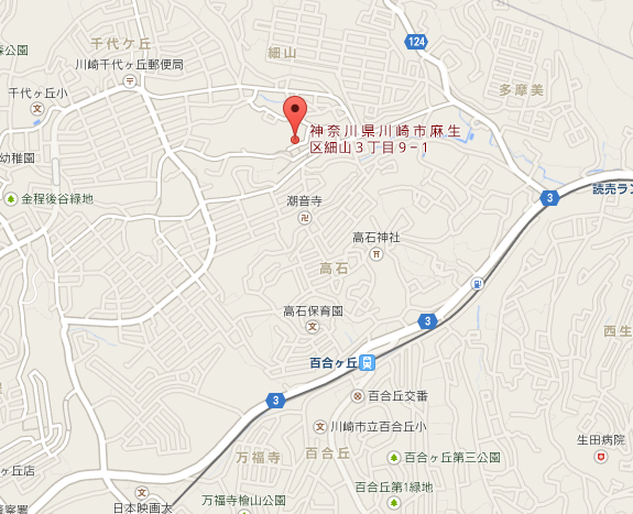香林寺 地図