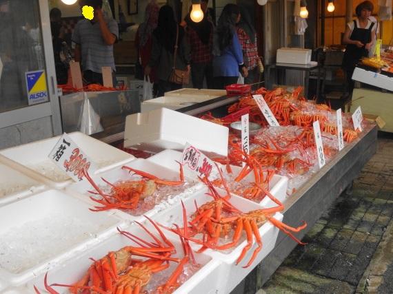 寺泊 魚の市場1