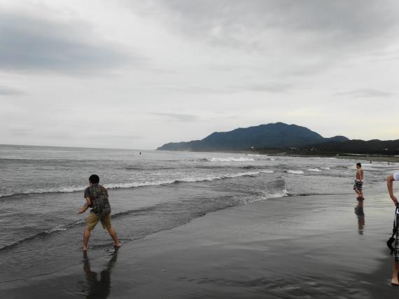 寺泊 浜辺3
