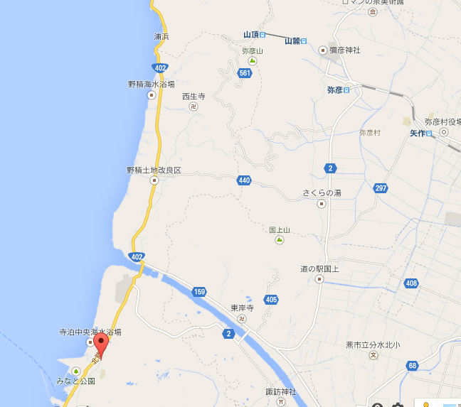 寺泊 地図