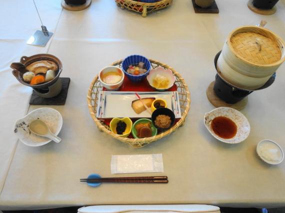 ひさご荘 朝食