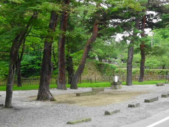 鶴ヶ城 城址公園1