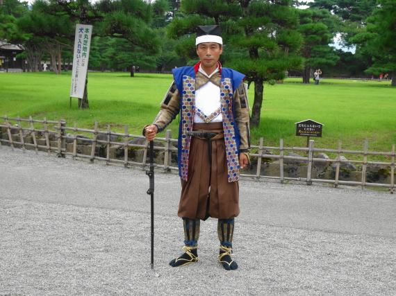 鶴ヶ城 侍おじさん