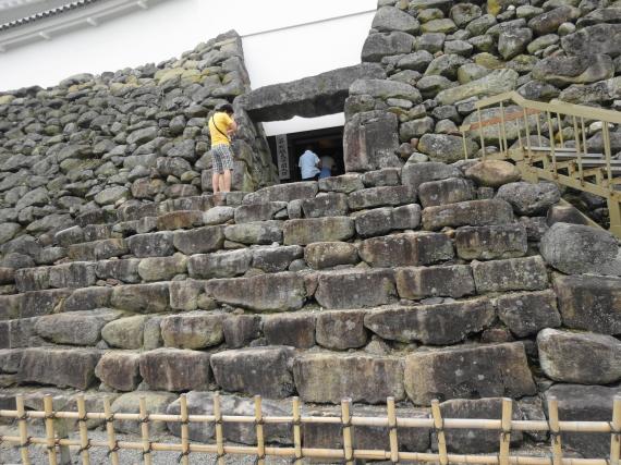 鶴ヶ城 入口2