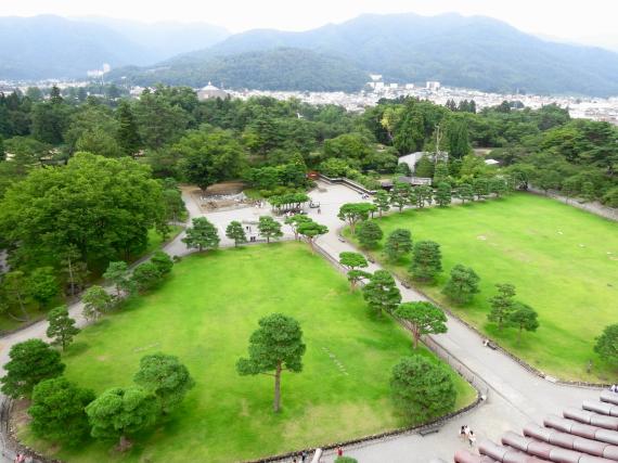 鶴ヶ城 展望台3