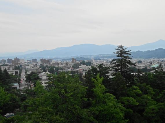 鶴ヶ城 展望台2