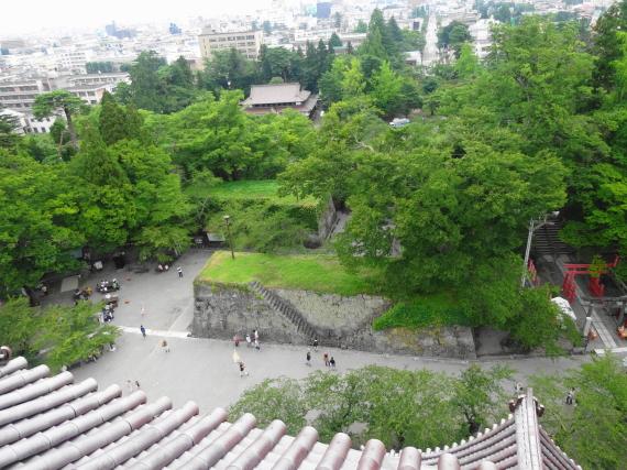 鶴ヶ城 展望台4