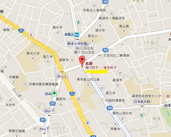 兆徳 地図