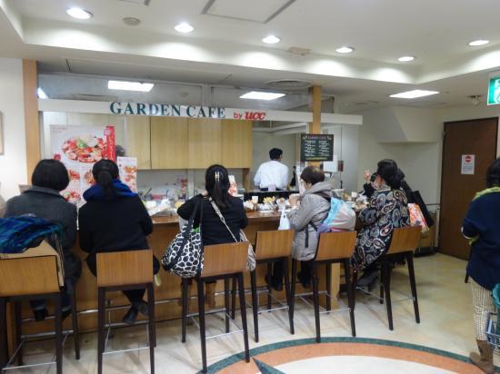 GARDEN CAFE 外観