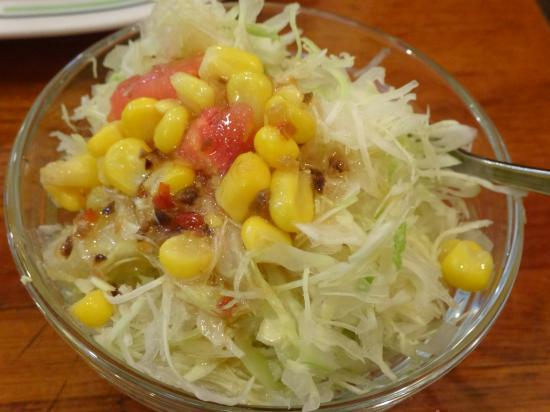 六曜館 サラダ